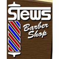 Stew's Barber Shop Logo